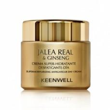 Keenwell Jalea Real And Ginseng Crema Super Hidratante Desfatigante – Dia Дневной суперувлажняющий крем, снимающий усталость, 80 мл