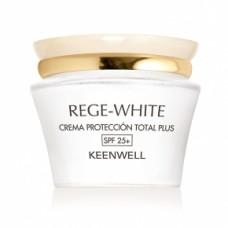 Keenwell Rege-White Total Plus Protection Cream (SPF 25+) Защитный крем тотал плюс (СЗФ 25+), 50 мл